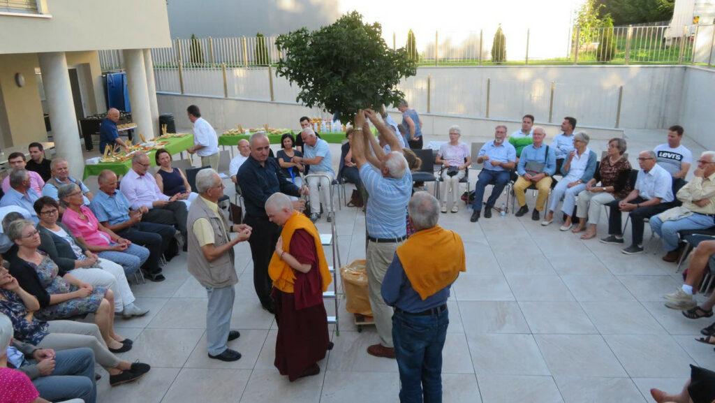Interreligiöse Bettagsfeier in der albanischen Moschee in Frauenfeld im September 2019. Bild: zVg